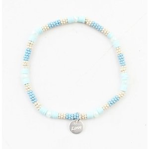 "Bracelet ""Merve"" light blue"