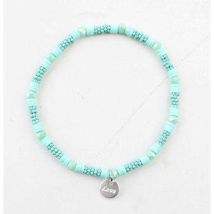 "Armband ""Zora"" türkis"