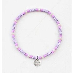 "Armband ""Zora"" lila"