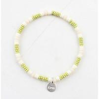 "Armband ""Zora"" geel"