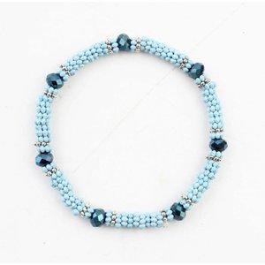 "Armband ""Anique"" blauw"
