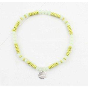 """Bracelet """"Kyla"""" mustard yellow"""