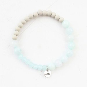 "Bracelet ""Francesca"" light blue"