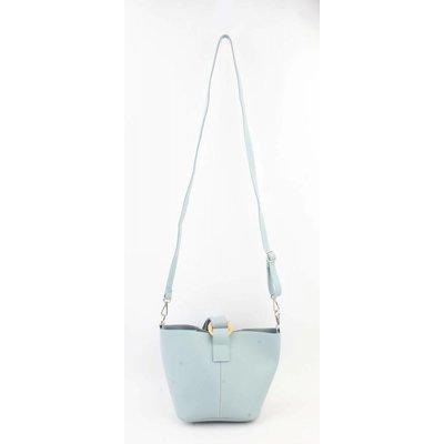 "Handtasche ""Maral"" blau"