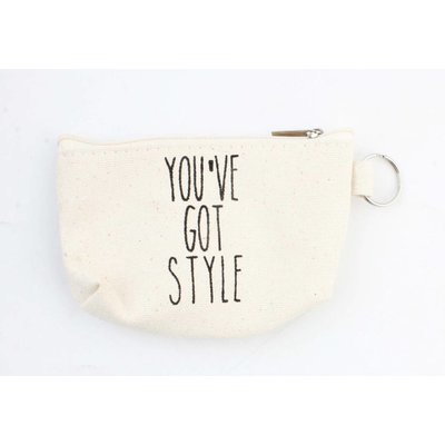 """Keychain bag """"You"""" ve got style """"off white"""