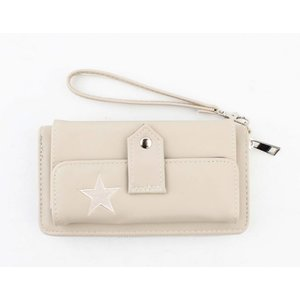 """Wallet """"Star"""" taupe"""