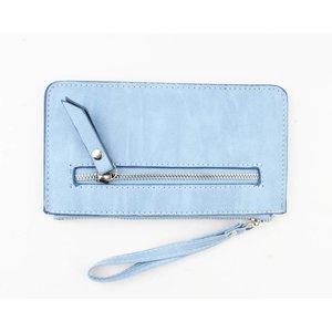 """Wallet """"Zipper"""" blue"""