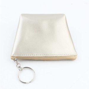 "Purse key ring ""Shiny"" gold"