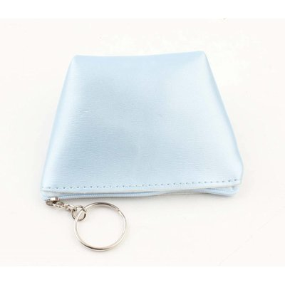 "Purse key ring ""Shiny"" blue"