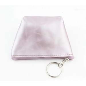 "Purse key ring ""Shiny"" purple"