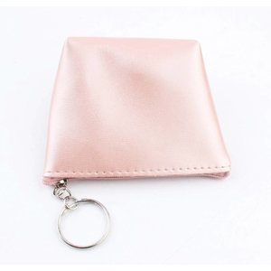 "Purse key ring ""Shiny"" pink"