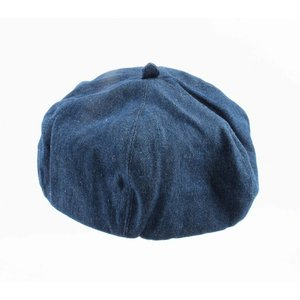 "Beret ""Denim"" dark blue"