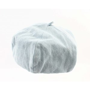 "Beret ""Denim"" light blue"
