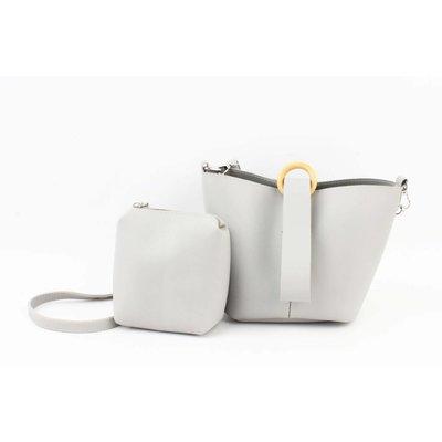 """Handbag """"Maral"""" grey"""