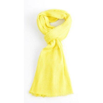 """Sjaal """"Celina"""" geel"""