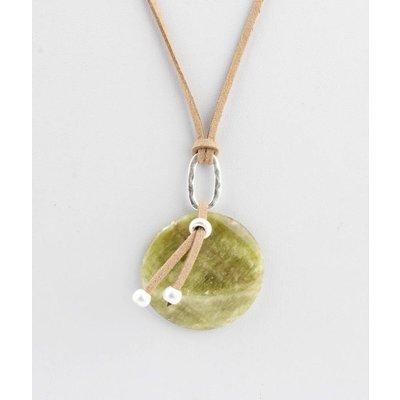 """Halskette """"Periot"""" grün"""