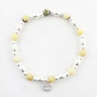 "Armband ""Love"" citroen geel"
