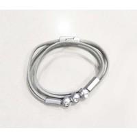 "Bracelet ""Vanity"" light grey"