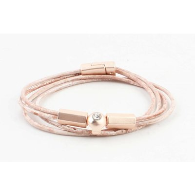 """Armband """"Elyn"""" vintage roze"""