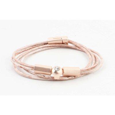 "Bracelet ""Ebenezer"" vintage pink"