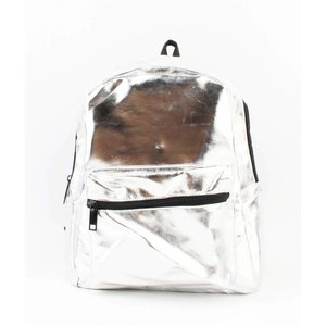 """Backpack """"Shiny"""" silver"""