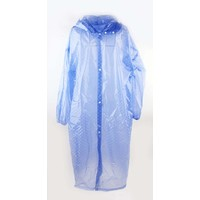 "Rain jacket ""Dots"" blue"