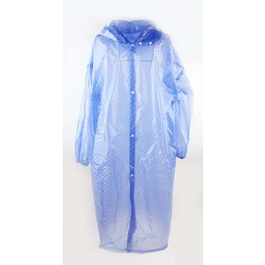 """Regenmantel """"Dots"""" blau"""
