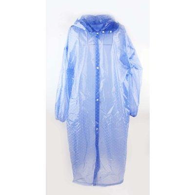 "Rain jacket ""Dots"" blue"