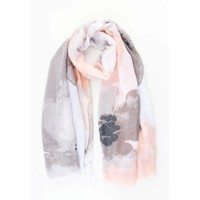 "Sjaal ""Eleonore"" zalm roze"
