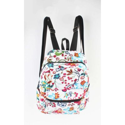 "Backpack ""Flowers"" white"