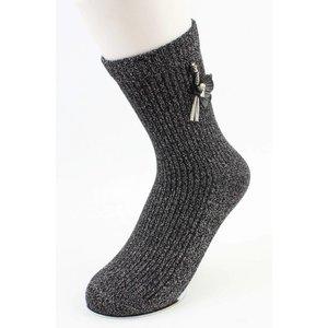 "Socks ""Flamingo"" black"
