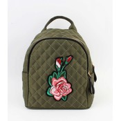 "Mini backpack ""Rose"" kakhi Green"