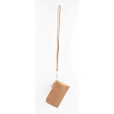 """Beutel """"Zipper"""" metallic Brown"""