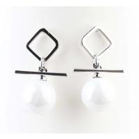 "Earring ""Tiana"" silver"