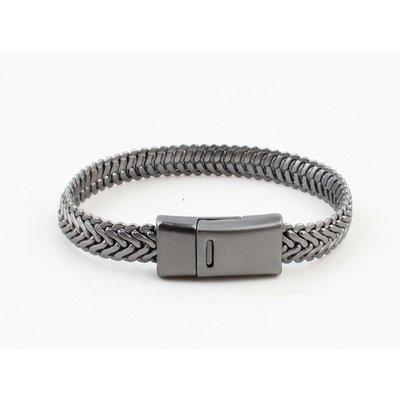 "Metall Armband ""Ilana"" anthrazit"