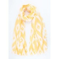 """Scarf """"Africa"""" yellow"""