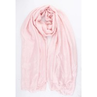 """Scarf """"Happy summer pearls"""" pink"""