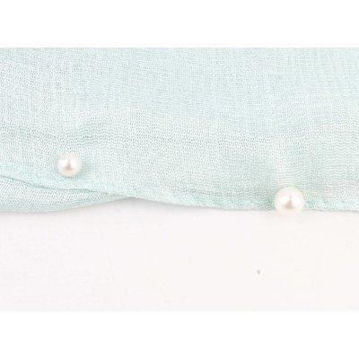 "Schal ""Happy Summer Pearls"" mintgrün"