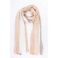 "Scarf ""Hilde"" taupe"