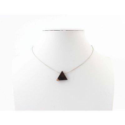 "Kürze Halskette ""Dreieck"" silber"