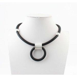 """Halskette """"Hilda"""" schwarz"""