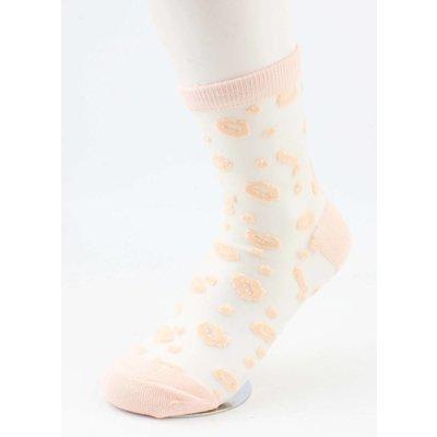 "Socks ""Lips"" old pink, per 2 pairs"