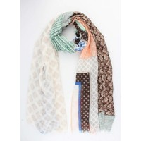 "Scarf ""Mix & Match"" green"