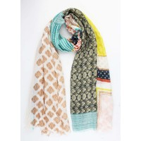 "Scarf ""Mix & Match"" blue"
