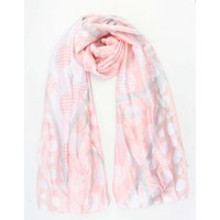 "Scarf ""Multi dots"" pink"