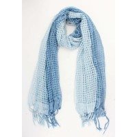 "Scarf ""Meagan"" blue"