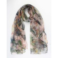 "Scarf ""Blossom"" pink"