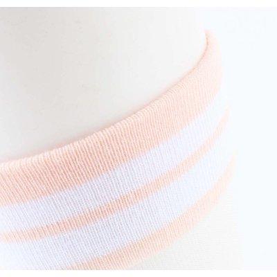 "Socks ""Mesh & Stripes"" old pink, per 2 pairs"