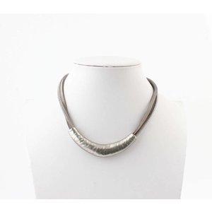 "Necklace ""Neva"" grey"