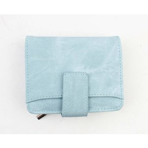 "Wallet ""Denim look M"" light blue"